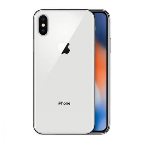 iPhone X plata 256GB