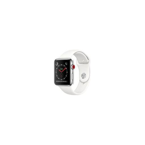 Apple Watch Series 3 38mm Argent 4G